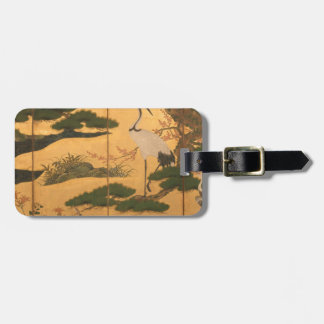 Birds and Flowers of the Four Seasons Luggage Tag