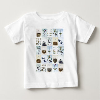 Birds and Nests Baby T-Shirt
