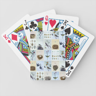 Birds and Nests Bicycle Playing Cards