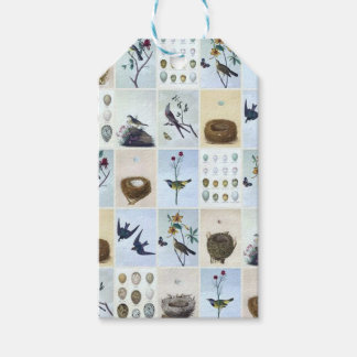Birds and Nests Pack Of Gift Tags