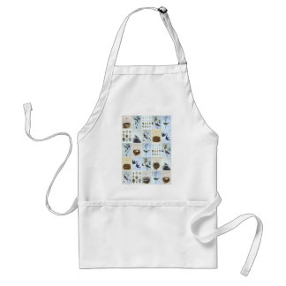 Birds and Nests Standard Apron