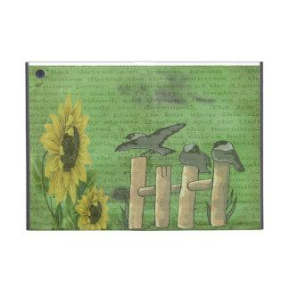 Birds and Sunflowers iPad Mini Covers