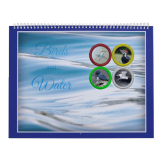 Birds and Water (Large Sized) Calendars