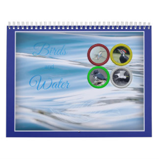 Birds and Water (Medium Sized) Calendar