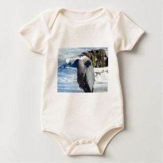 birds baby bodysuit