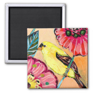 Birds & Butterfiles No 15 Magnet