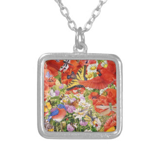Birds, Butterflies and Bees Necklace