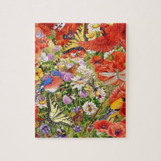 Birds, Butterflies and Bees Puzzle