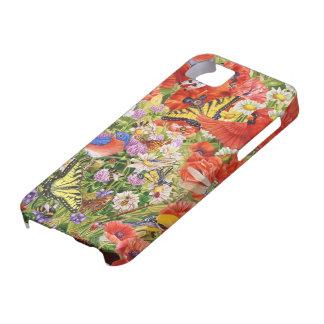 Birds, Butterflies iPhone SE and 5/5S Case