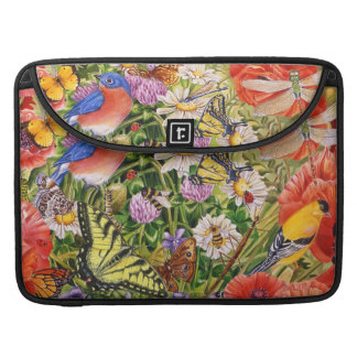 "Birds, Butterflies MacBook Pro 15"" Sleeve"