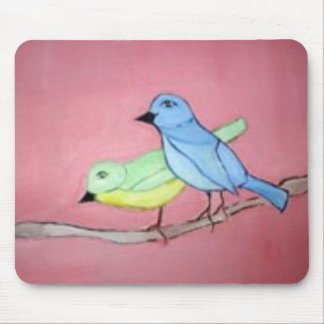 birds by the world of eric mouse pad