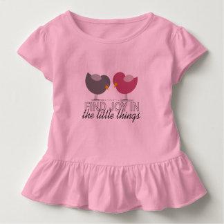 Birds Cartoon Tender Nostalgic Emotional Simple Toddler T-shirt