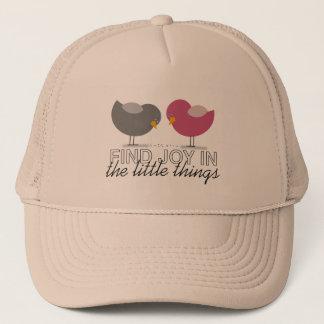 Birds Cartoon Tender Nostalgic Emotional Simple Trucker Hat