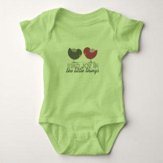 Birds Cartoon Tender Nostalgic Encouragement Cute Baby Bodysuit
