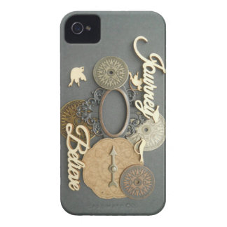 Birds Compass Steampunk True North Photography iPhone 4 Cover