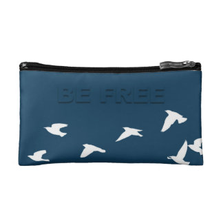 birds Cosmetic pouch Cosmetic Bag
