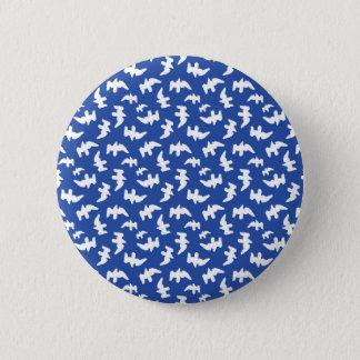 Birds Drawing Pattern Design 2 Inch Round Button