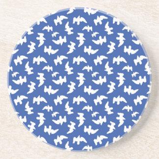 Birds Drawing Pattern Design Beverage Coaster