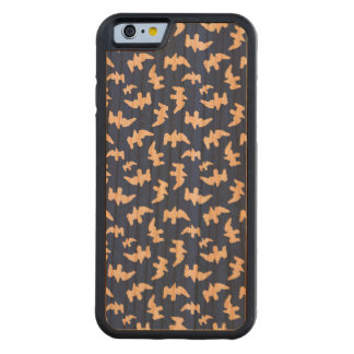 Birds Drawing Pattern Design Carved Cherry iPhone 6 Bumper Case