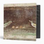 Birds eating nuts binders