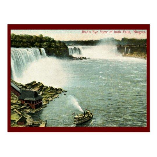 Bird's Eye View, Niagara Falls Vintage Postcard