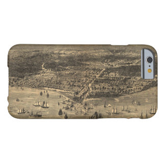 Bird's-Eye-View Of Chicago Before The Great Fire Barely There iPhone 6 Case