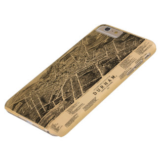 Bird's-eye view of Durham, North Carolina (1891) Barely There iPhone 6 Plus Case