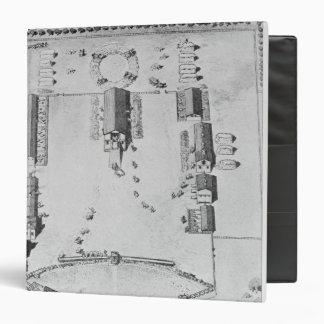 Bird's-eye view of ideal plantation buildings binder