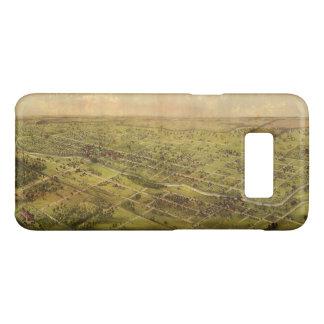 Bird's Eye View of Lansing, Michigan (1866) Case-Mate Samsung Galaxy S8 Case