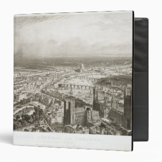 Bird's Eye View of London from Westminster Abbey, Binders