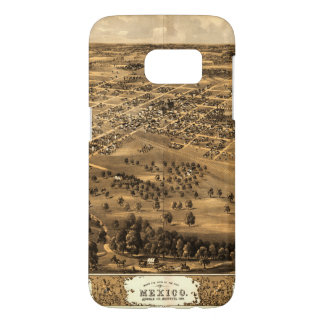 Bird's eye view of Mexico, Missouri (1869) Samsung Galaxy S7 Case