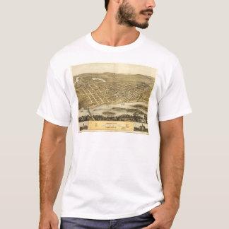 Bird's Eye View of Portage, Wisconsin (1868) T-Shirt