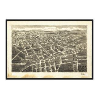 Bird's Eye View Statesville, North Carolina (1907) Canvas Print