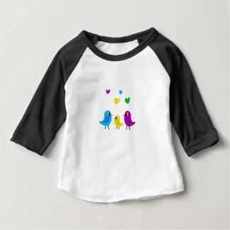Birds family baby T-Shirt