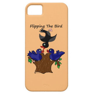Birds Flipping The Bird iPhone 5 Covers