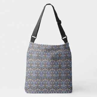 Birds Flower Strawberry William Morris Tote Bag