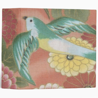 Birds & Flowers Binder