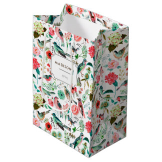 Birds & Flowers | Gift Bag