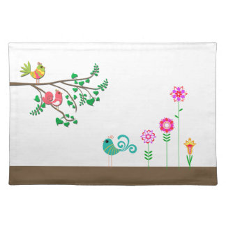 Birds & Flowers Placemat