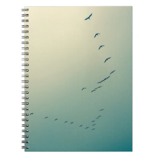 Birds Fly Notebook