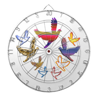 Birds Fly :  Soaring High is my nature Dart Boards