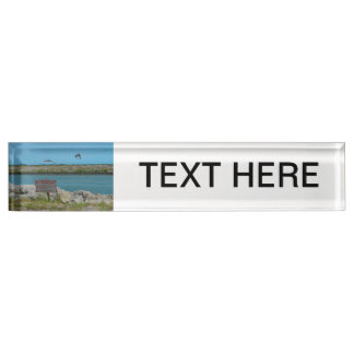 birds flying florida no tresspassing sign name plate