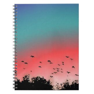 Birds flying High Notebook