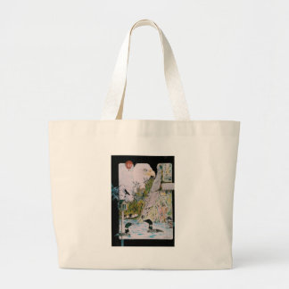 Birds from A to L Large Tote Bag