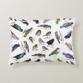 Birds garden decorative pillow
