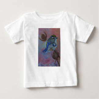 Birds  Golden-crowned Kinglet Baby T-Shirt