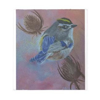Birds  Golden-crowned Kinglet Notepad