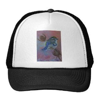 Birds  Golden-crowned Kinglet Trucker Hat