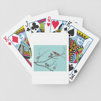 Birds in a Tree Bicycle Playing Cards