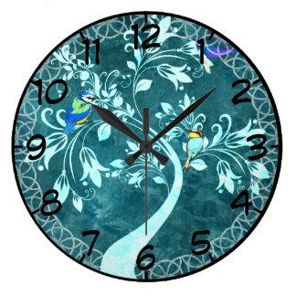 Birds In A Tree Clocks